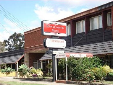 Town  Country Motel - Grafton Accommodation