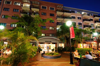 Central Brunswick Apartment Hotel - Grafton Accommodation