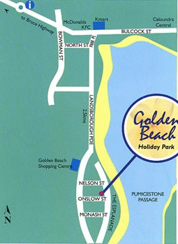 Golden Beach Holiday Park - Grafton Accommodation