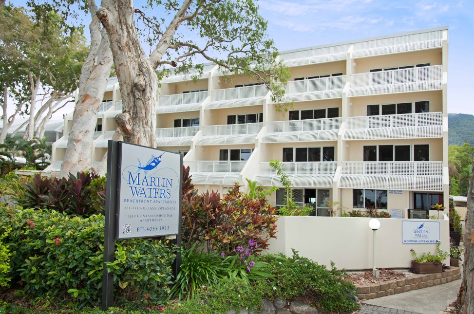 Marlin Waters Beachfront Apartments - Grafton Accommodation