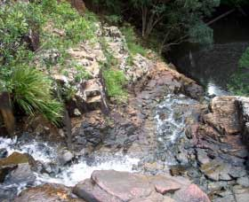 Gypsy Falls Waterfall   Retreat - Grafton Accommodation