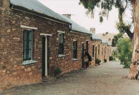 Burra Heritage Cottages - Tivers Row - Grafton Accommodation