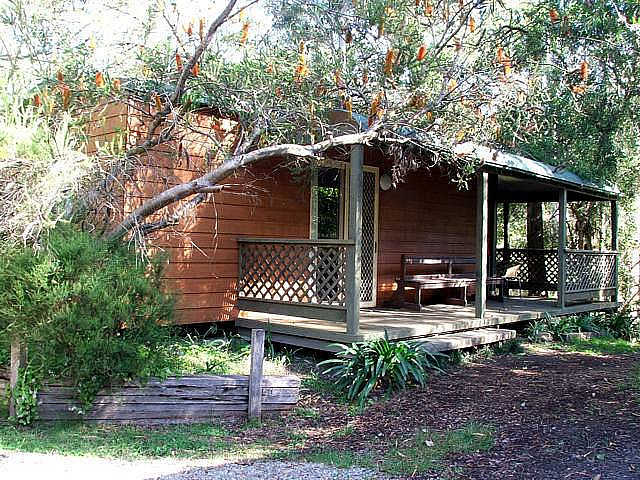 Jervis Bay Cabins  Hidden Creek Real Camping - Grafton Accommodation