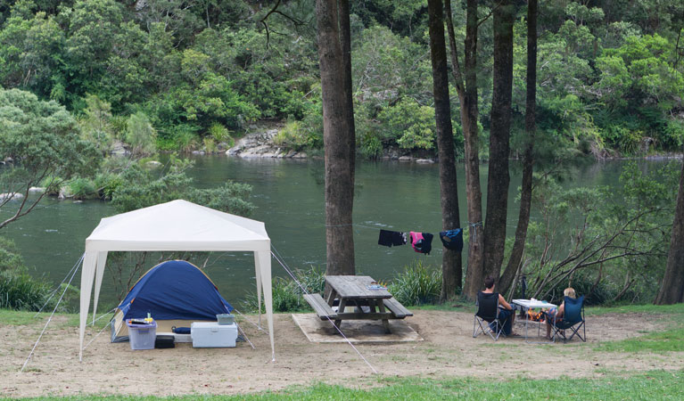 Platypus Flat campground - Grafton Accommodation