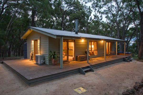 Mirkwood Forest Self-Contained Spa Cottages - Grafton Accommodation