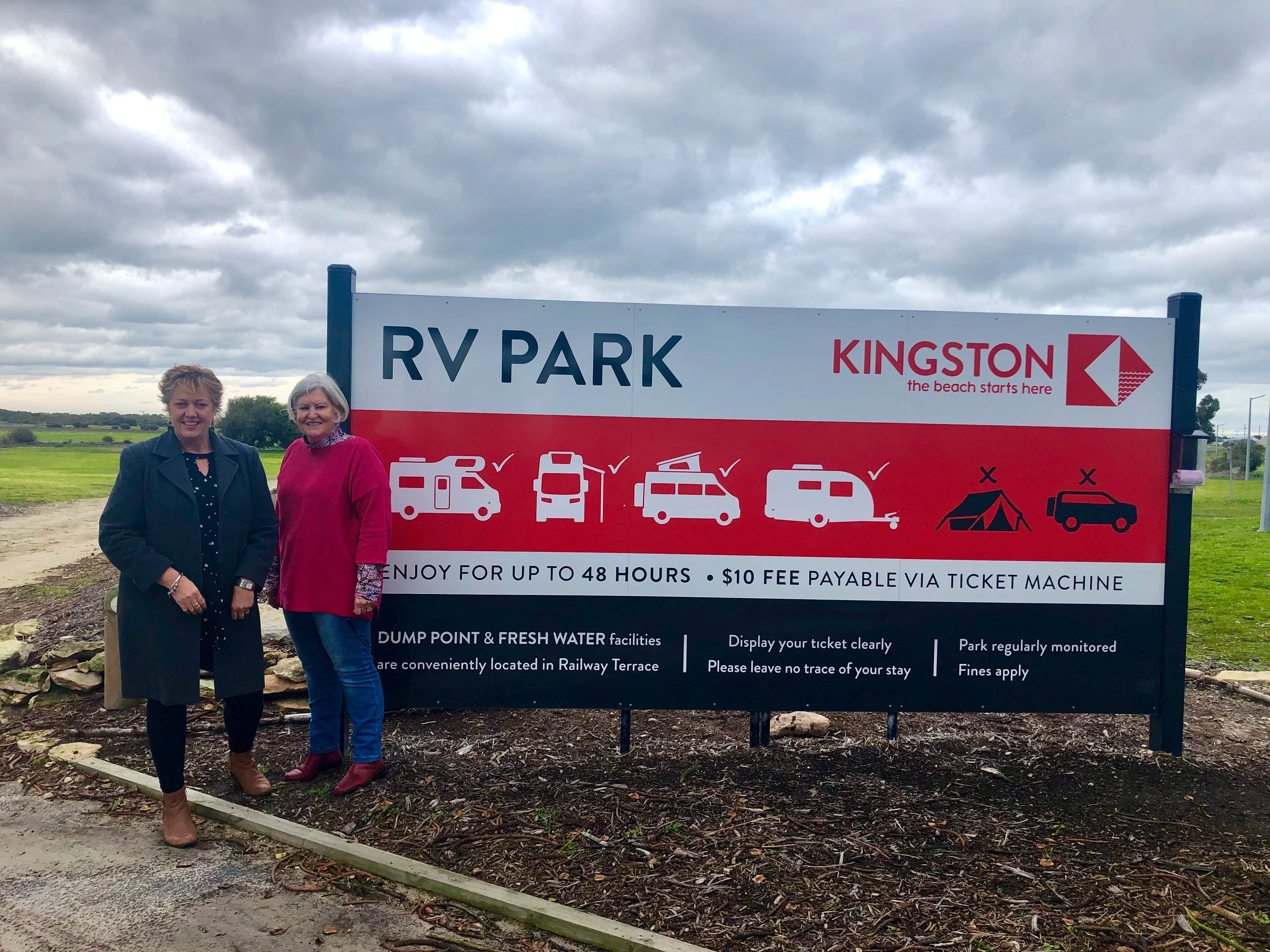Kingston RV Park - Grafton Accommodation