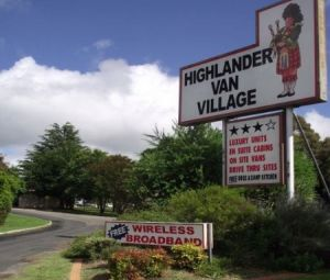 Highlander Van Village - Grafton Accommodation