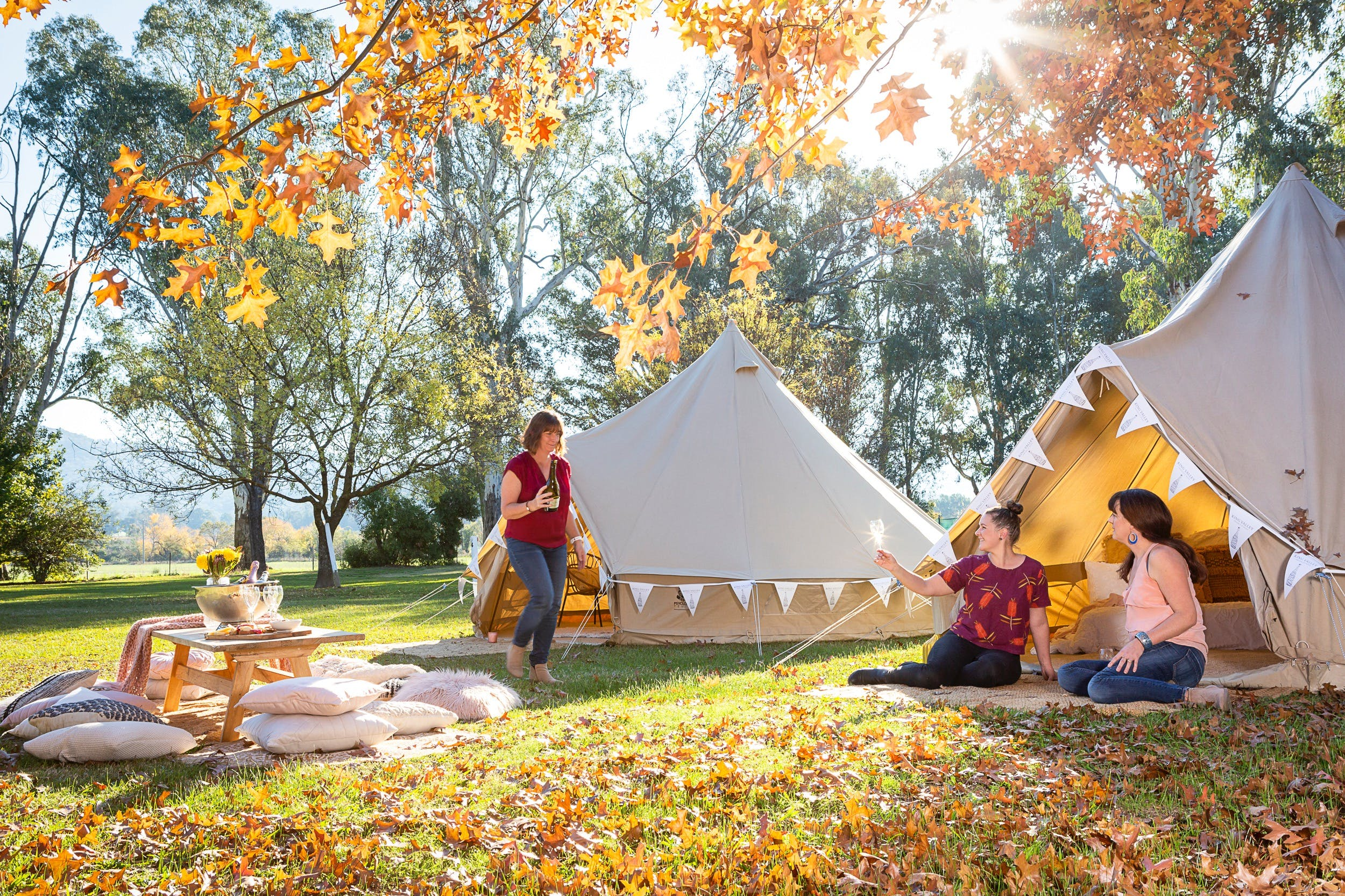 Valley View Glamping - Grafton Accommodation