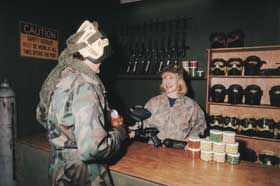 Indoor Skirmish - Paintball Sports - Grafton Accommodation