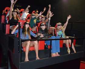 7D Cinema - Virtual Reality - Grafton Accommodation