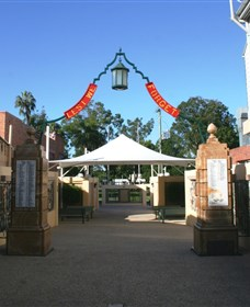 Gympie and Widgee War Memorial Gates - Grafton Accommodation