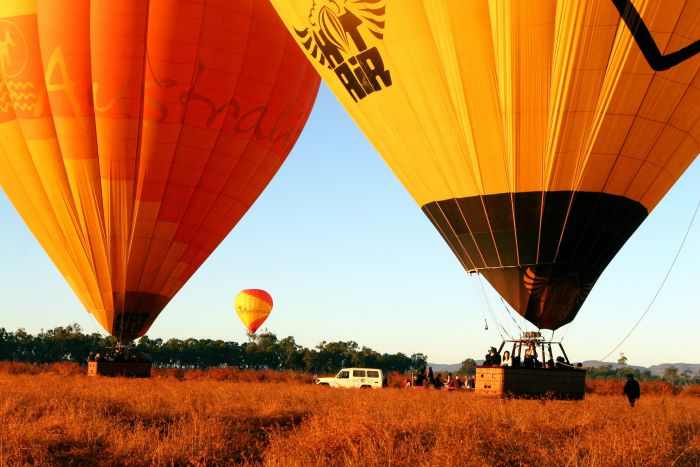 Hot Air Balloon Scenic Rim - Grafton Accommodation