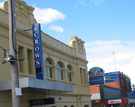 Crown Hotel Lilydale - Grafton Accommodation