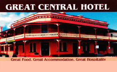 Great Central Hotel - Grafton Accommodation