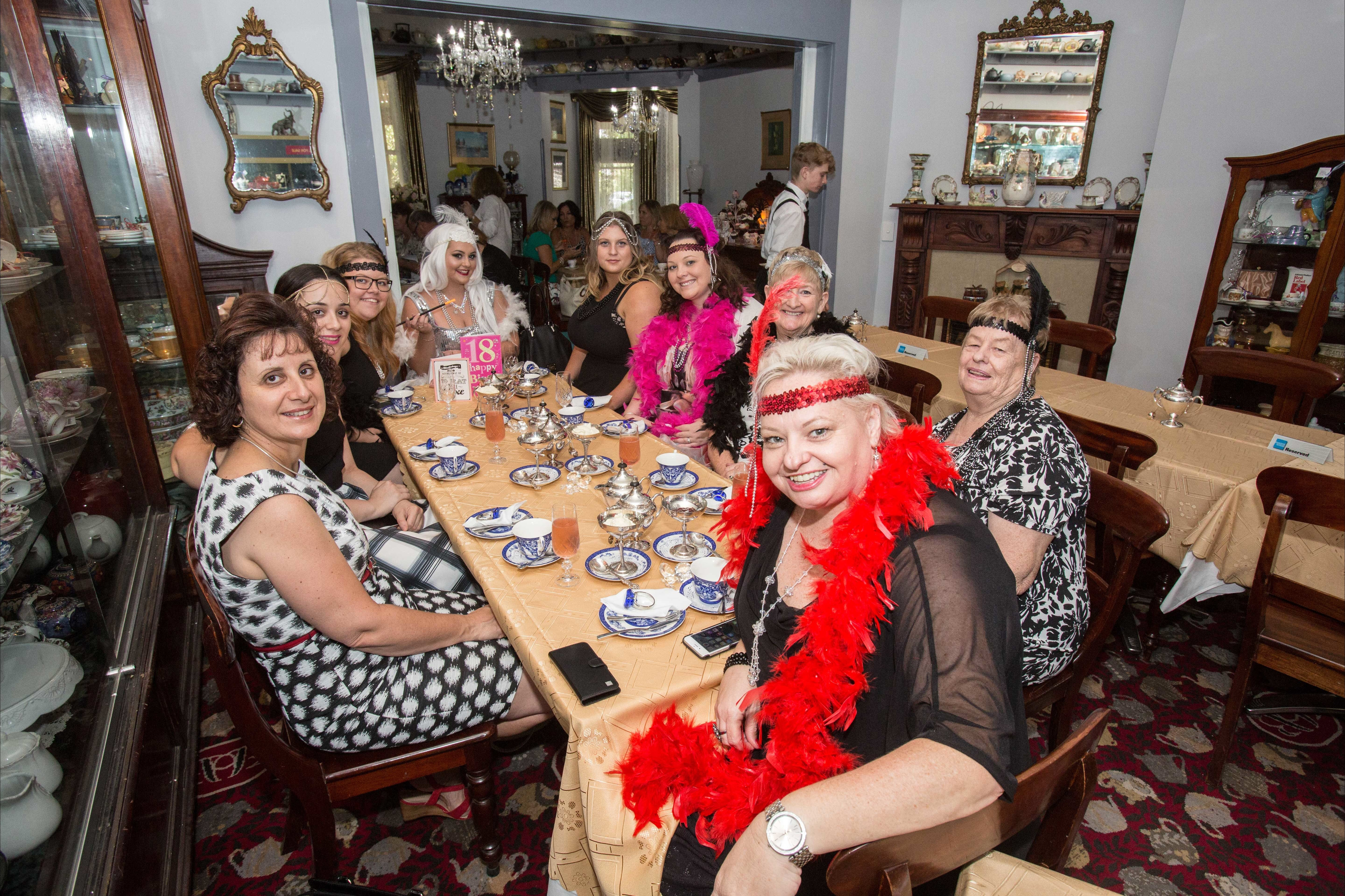 Bygone Beauty's Traditional High Tea Supreme for Good Food Month. - Grafton Accommodation