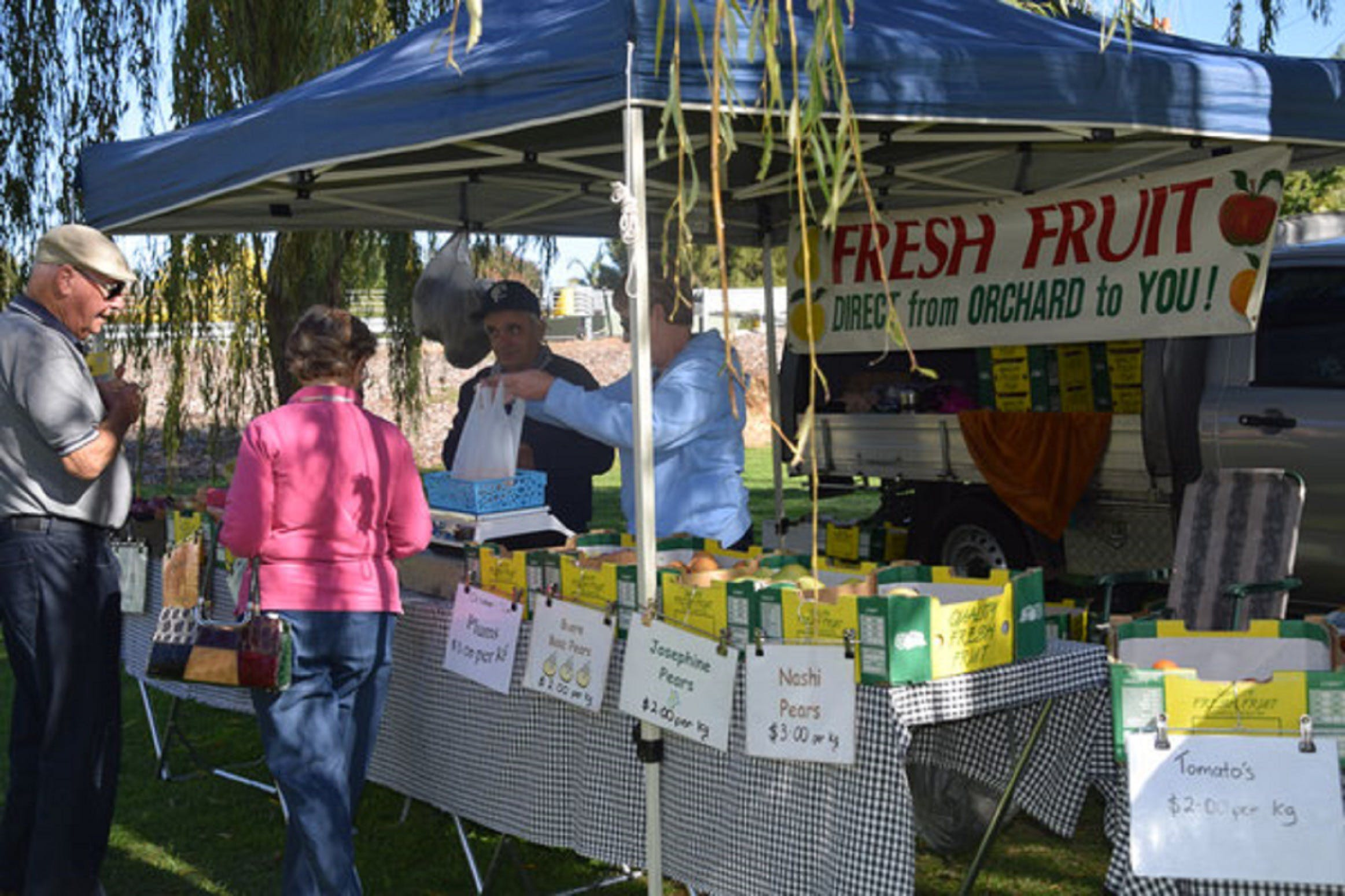Corowa Rotary Federation Festival Market - Grafton Accommodation