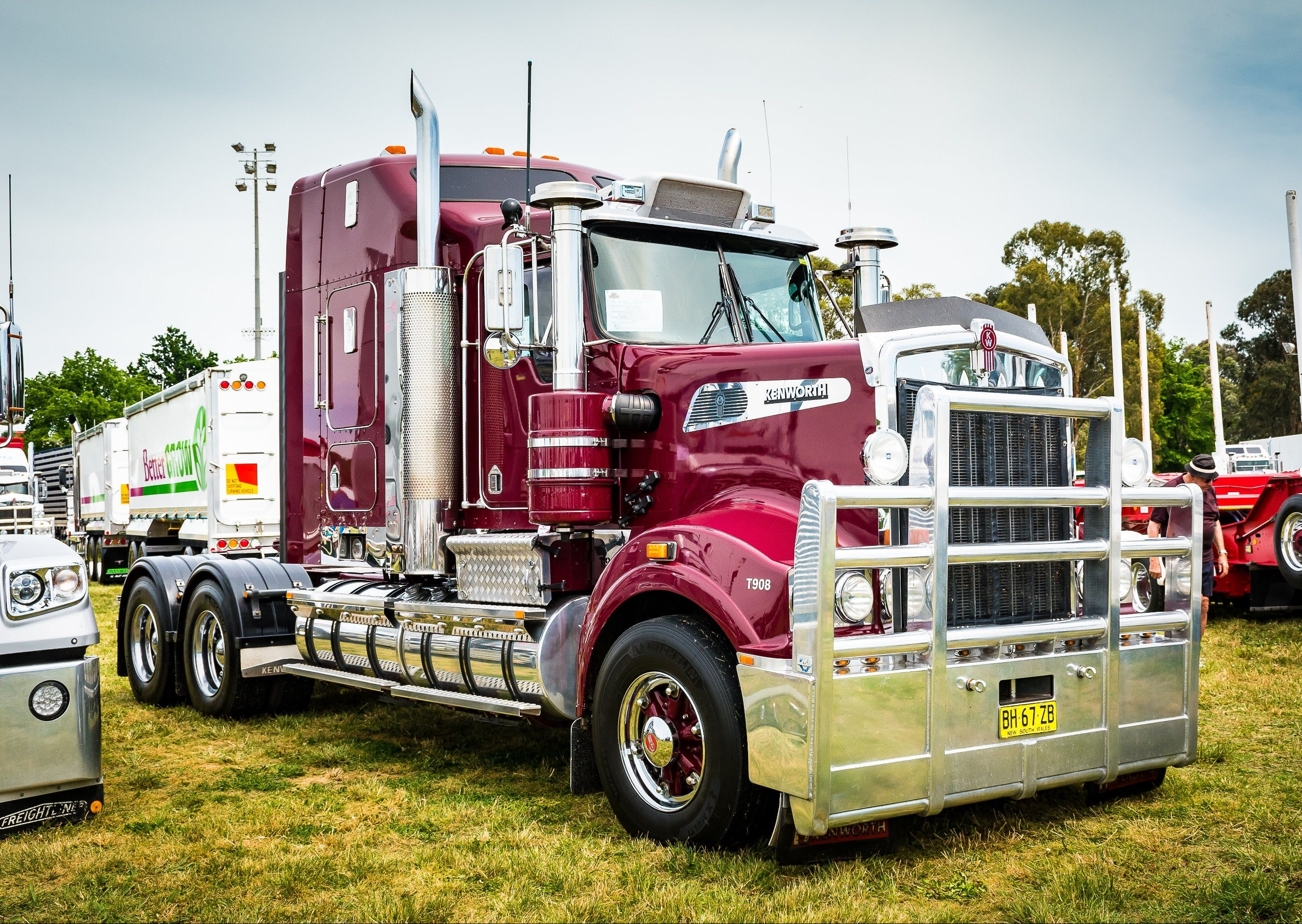 Dane Ballinger Memorial Truck Show - Grafton Accommodation