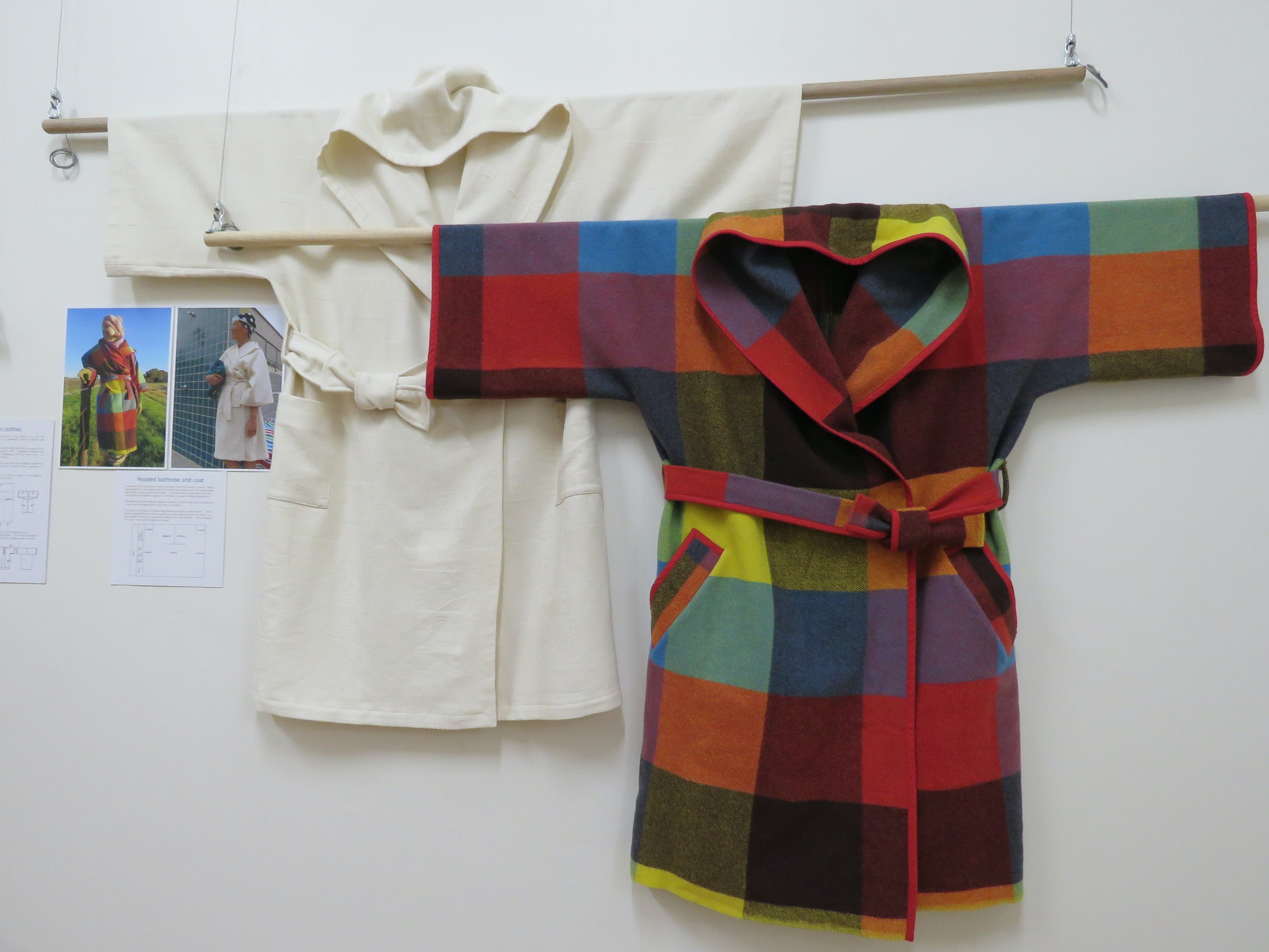 Zero Waste Fashion exhibition - Grafton Accommodation