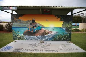 Davies Construction International Mural Fest - Grafton Accommodation