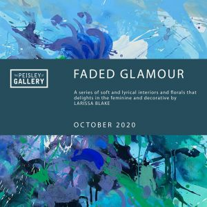 Faded Glamour - paintings by Larissa Blake - Grafton Accommodation