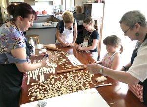 Kids Pasta Making Class - hands on fun at your house - Grafton Accommodation