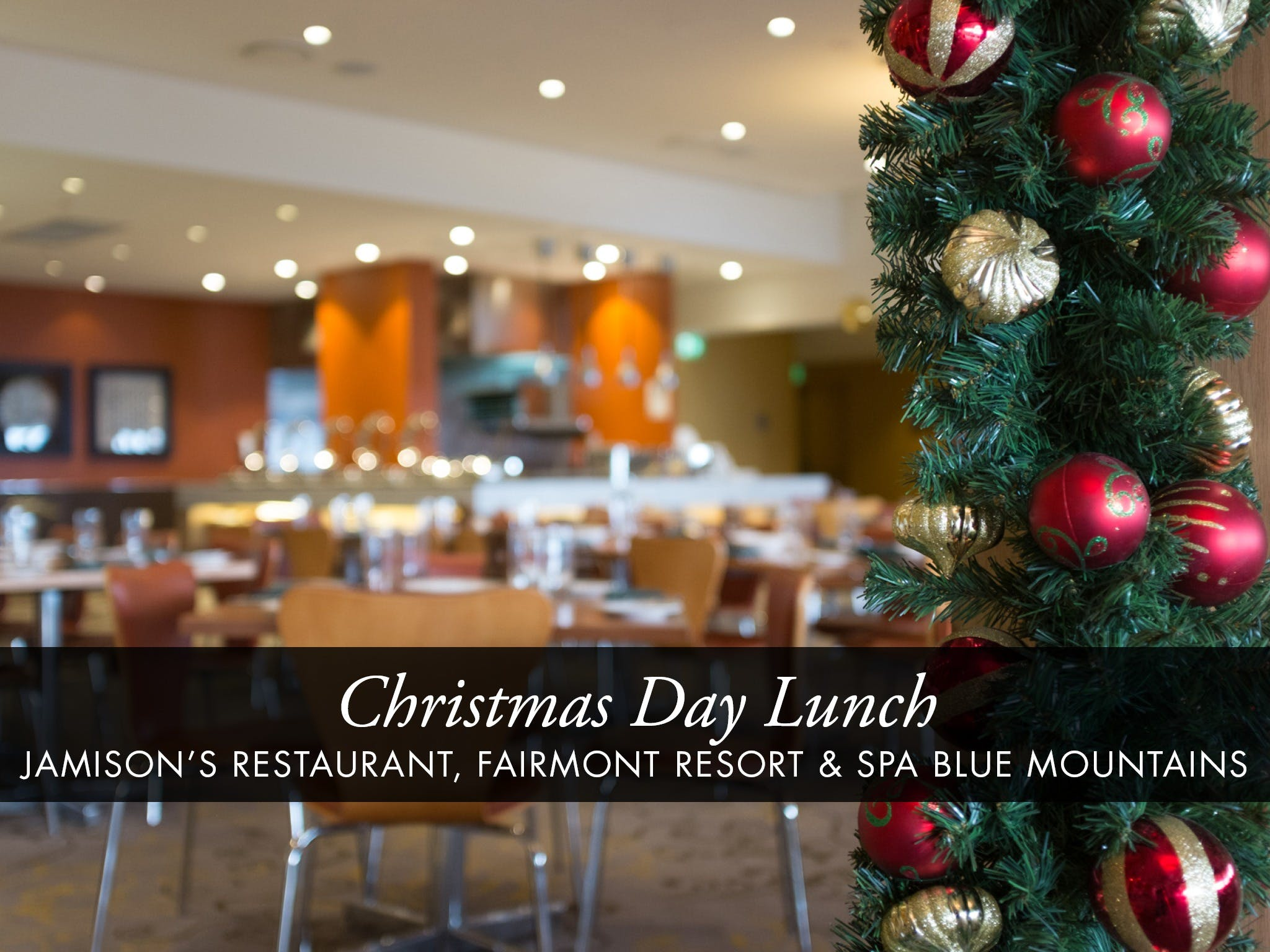 Christmas Day Buffet Lunch at Jamison's Restaurant - Grafton Accommodation