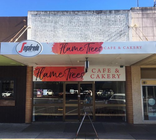Flame Trees Cafe  Cakery - Grafton Accommodation