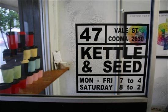 Kettle  Seed Cafe and Coffee Roaster - Grafton Accommodation