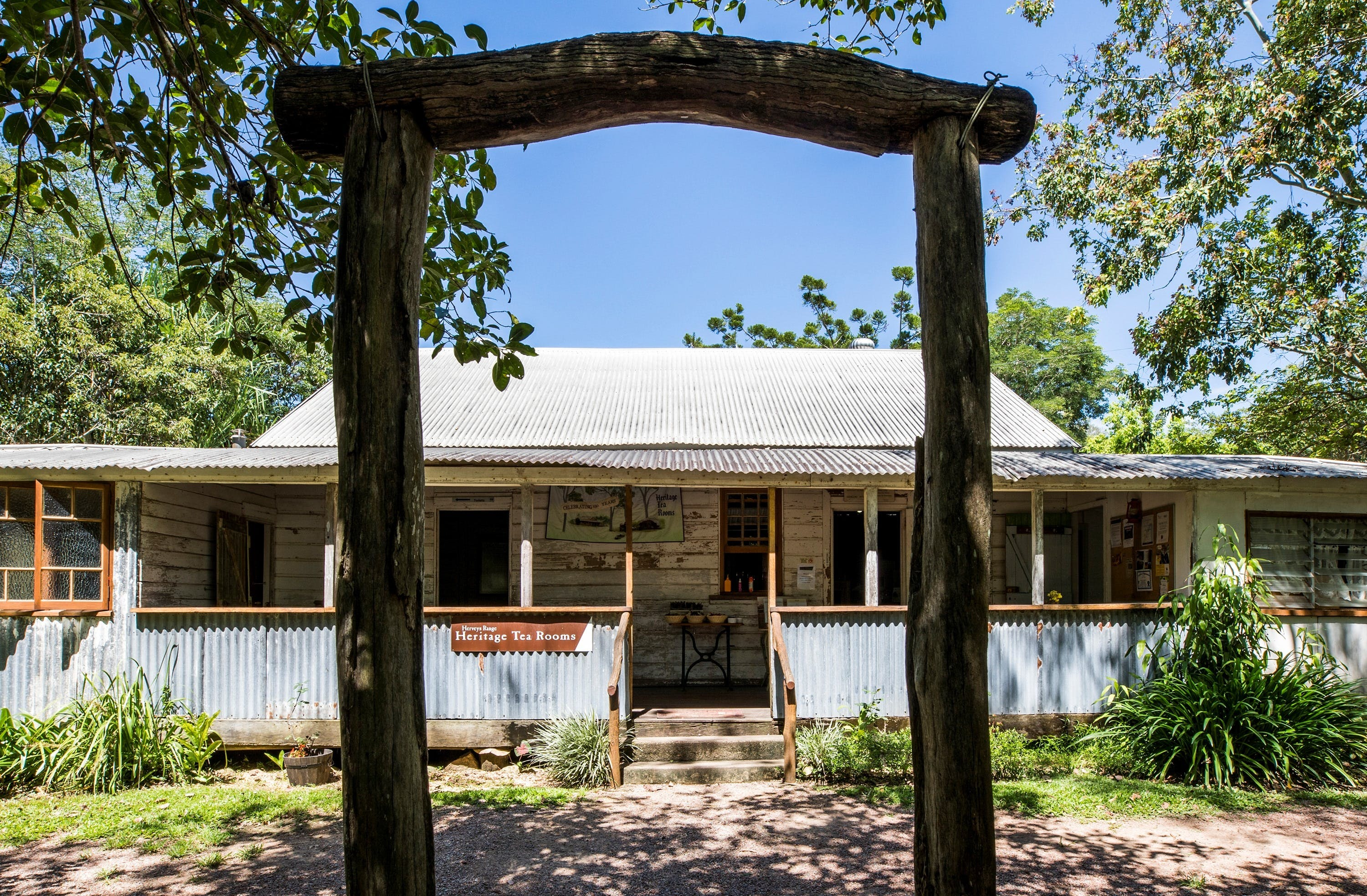 Herveys Range Heritage Tea Rooms - Grafton Accommodation
