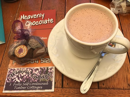 Stanthorpe's Heavenly Chocolate at Wisteria Cottage - Grafton Accommodation