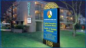 Capital Executive Apartment Hotel - Grafton Accommodation